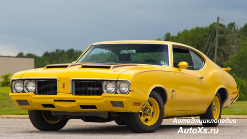 Oldsmobile Cutlass Rallye 350 (1970) Краска Sebring Yellow