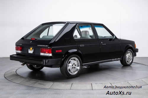 Dodge Shelby OMNI GLH-S Turbo (1986) сзади