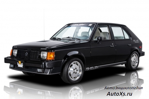 Dodge Shelby OMNI GLH-S Turbo (1986) передний