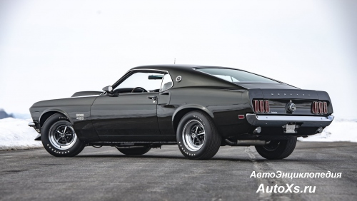Ford Mustang Boss 429 (1969 - 1970) фото сзади