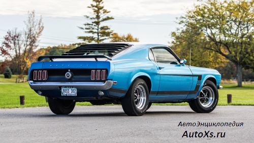 Ford Mustang Boss 302 (1969 - 1970) фото сзади