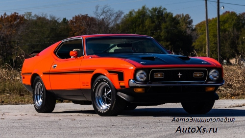 Ford Mustang Boss 351 (1971) фото