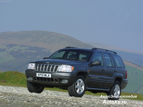 Jeep Grand Cherokee WJ (1998 - 2002) фо спереди