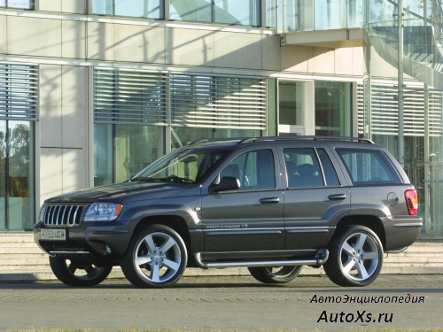 Jeep Grand Cherokee WJ (2002 - 2004) фото сбоку