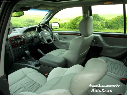 Jeep Grand Cherokee WJ (2002 - 2004) фото интерьер