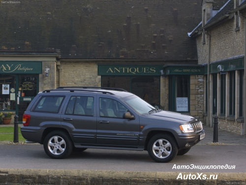 Jeep Grand Cherokee WJ (1998 - 2002) фо сбоку