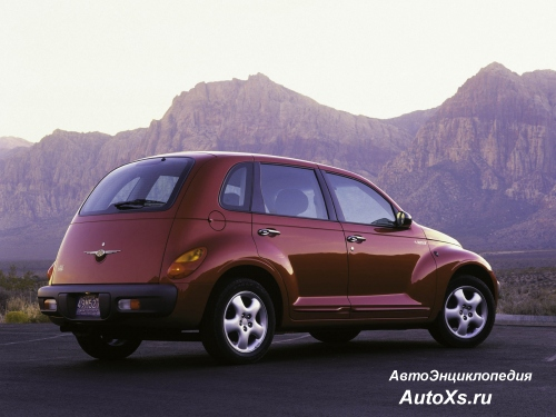 Chrysler PT Cruiser (2000 - 2009) фото сзади