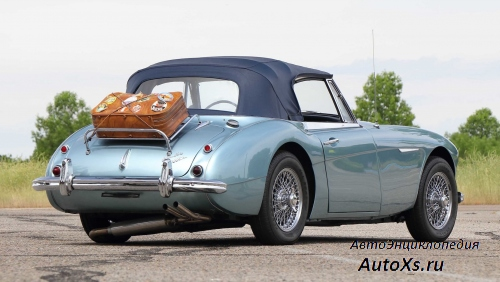 Austin-Healey 3000 MkIII BJ8 (1964 - 1967): фото сзади