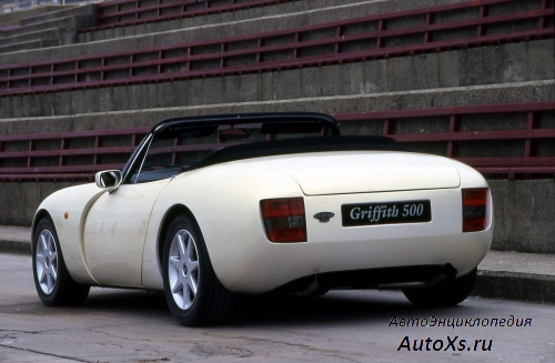 TVR Griffith 500 (1991 - 2002): фото сзади
