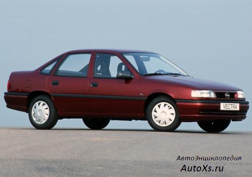Opel Vectra A Sedan (1992 - 1995): фото сбоку