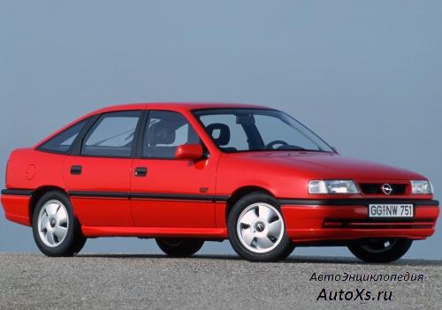 Opel Vectra A Hatchback (1992 - 1994): фото сбоку