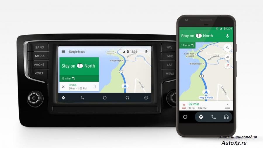 Как правильно настроить в машине Android Auto